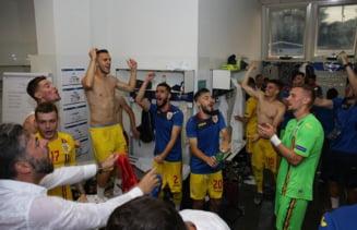 Notele primite de fotbalistii romani dupa victoria cu Anglia de la EURO U21: Nu Coman a fost cel mai bun de pe teren