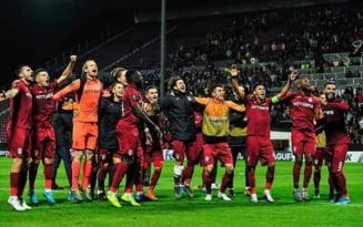 Notele primite de jucatorii lui CFR Cluj dupa victoria minunata din meciul cu Lazio Roma