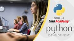 Nou la LINK Academy: Program de un an de zile - Python Development