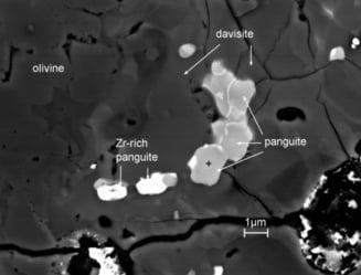 Nou mineral descoperit intr-un meteorit cazut pe Terra in anii '60