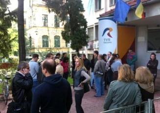 Nou protest al angajatilor TVR