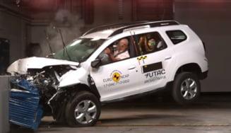 Noua Dacia Duster, evaluata de Euro NCAP - cate stele a primit la testul de siguranta (Video)