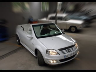 Noua Dacia Logan, in varianta Cabrio (Galerie foto)