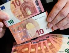 Noua bancnota de 10 euro este de azi in circulatie (Video)