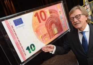 Noua bancnota de 10 euro intra in circulatie. Cum arata si ce elemente de securitate are (Video)
