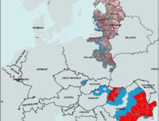 Noua harta a raspandirii pestei porcine publicata de Comisia Europeana