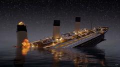 Noua ipoteza despre scufundarea Titanicului: Catastrofa a fost provocata de foc, gheata si o neglijenta criminala (Video)