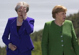 Noua luni pana la Brexit: Intalnire May, Merkel si Rutte, inaintea unei reuniuni cruciale a Cabinetului britanic