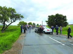 Noua persoane ranite intr-un accident, la Zvoristea