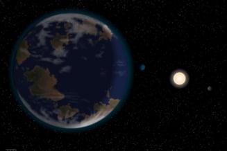 Noua planeta descoperita in zona locuibila
