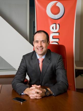Noul CEO Vodafone, despre piata romaneasca si cum se spioneaza concurenta