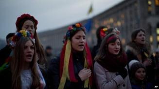 Noul Guvern ucrainean, prezentat in tabara protestelor de la Kiev UPDATE