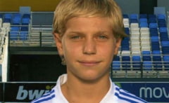 Noul Hagi are 13 ani, este din Galati si joaca de doi ani la Real Madrid