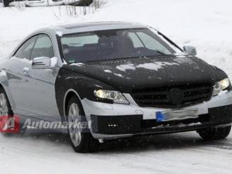 Noul Mercedes S-Klasse Coupe a fost spionat (Galerie foto)