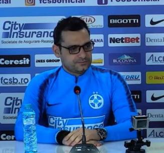 """Noul antrenor al FCSB dezvaluie ce transferuri isi doreste: """"Am vorbit cu Becali, am facut o lista"""""""