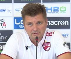 Noul antrenor al lui Dinamo isi critica jucatorii de la prima conferinta de presa