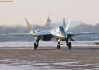 Noul avion invizibil T-50 al Rusiei, mai bun decat F-35 al SUA? (Galerie foto)