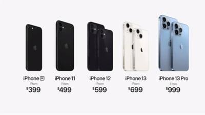 Noul iPhone 13, prezentat de Apple. Care sunt cele mai importante specificații VIDEO