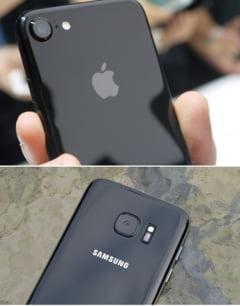 Noul iPhone 7 versus Samsung Galaxy S7 - Care e mai tare