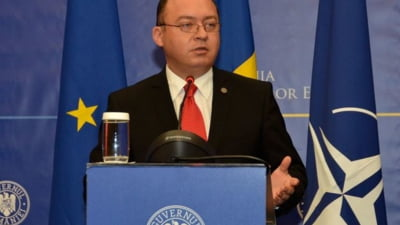 Noul ministru de Externe a avut o discutie telefonica cu secretarul general al NATO