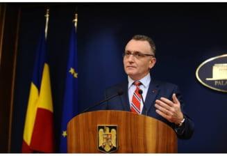 Noul premier interimar, ridicat in slavi de seful de partid