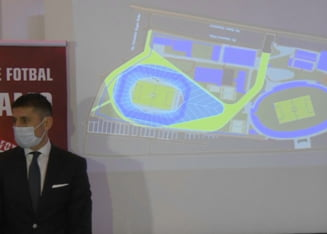 Noul stadion Dinamo, pe ultima suta de metri. A fost lansata si Academia condusa de Ionel Danciulescu