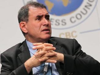 "Nouriel Roubini: A inceput ""jocul de sfarsit"" al zonei euro"