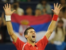 Novak Djokovic a ajuns....nume de avion