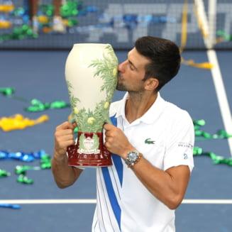 Novak Djokovic a castigat turneul de la Roma si l-a depasit pe Rafa Nadal