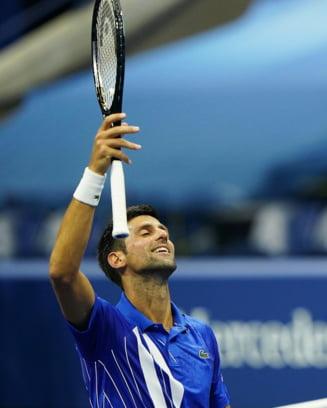 Novak Djokovic s-a calificat in sferturile de finala la Australian Open. Sarbul, la victoria 300 in turneele de Grand Slam