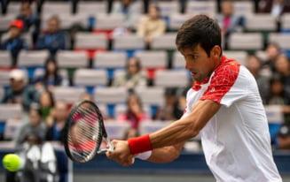 Novak Djokovici, campion pentru a patra oara la Shanghai, se apropie vertiginos de liderul Rafa Nadal