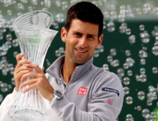 Novak Djokovici castiga la Miami si face dubla cu Indian Wells