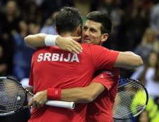 Novak Djokovici reuseste sa supravietuiasca unui thriller de 5 ore in Cupa Davis