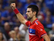 Novak Djokovici trimite finala Cupei Davis in decisiv