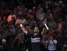 Novak Djokovici triumfa pentru a cincea oara la Mastersul de la Paris
