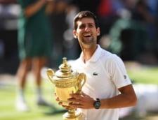 Novak Djokovici va fi amendat dupa un incident petrecut in finala de la Wimbledon