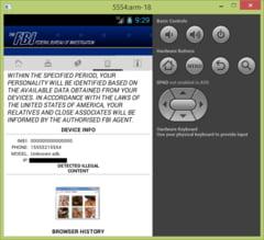 Nu da click! Un virus iti blocheaza telefonul sau tableta. Iti cere multi bani, in numele FBI