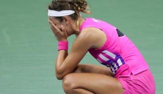 Nu i-a venit sa creada. Victoria Azarenka a invins-o pe Serena Williams la US Open si va juca finala