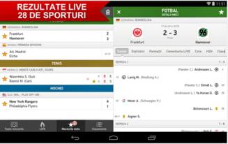 Nu vei prins in off side - Aplicatia pentru pasionatii de sport cu scoruri in timp real