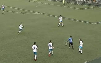 Numai Messi face asa ceva! Un fotbalist de la echipa lui Hagi a dat un gol incredibil dupa ce a driblat toti jucatorii VIDEO