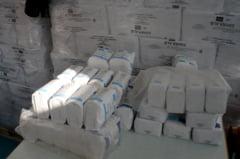 Numai in municipiu, Peste sapte mii de tulceni inca asteapta alimentele de la UE * Restante mai sunt si la Macin, unde s-au primit doar jumatate dintre pachetele cu alimente