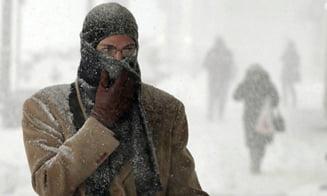 Numarul mortilor de frig in Europa de Est a trecut de 100