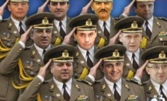 Nume sonore din viata politica romaneasca, avansate in diferite grade in Armata