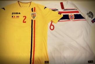 """Numerele """"tricolorilor"""" pentru meciul cu Norvegia: Iata si in ce culoare vom evolua"""