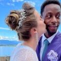 Nunta anului în tenis. Imagini superbe cu ucraineanca Svitolina în rochie de mireasă FOTO