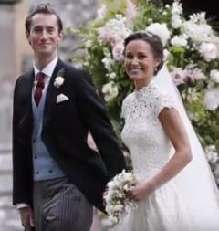 Nunta anului in Regatul Unit: Pippa Middleton s-a casatorit cu milionarul James Matthews (Foto & Video)