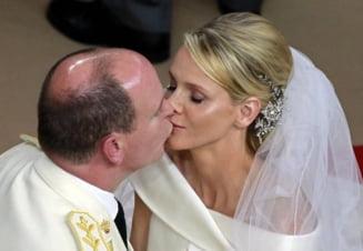 Nunta la Monaco: Ceremonie fastuoasa, mireasa a plans (Galerie foto)