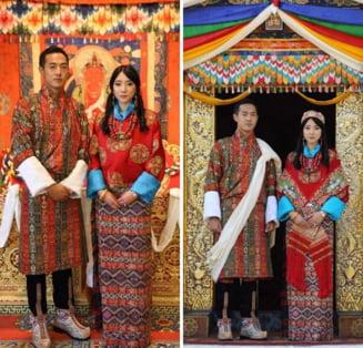 Nunta regala in Bhutan: Printesa Euphelma Choden Wangchuck s-a casatorit. Cine este sotul ei