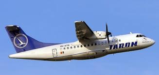 O aeronava Tarom a avut probleme la aterizare