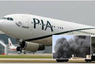 O aeronava cu 107 persoane la bord s-a prabusit vineri in Pakistan, aproape de aeroport